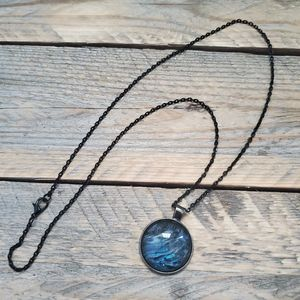 Midnight waves JEWELRY PENDANT NECKLACE